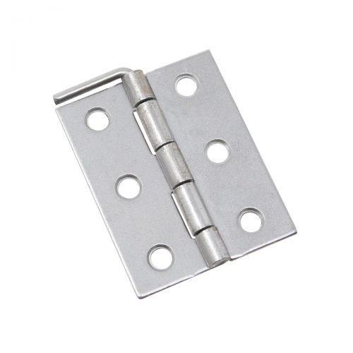 ledgångjärn 50 x 40 mm obehandlat järn silver metall för skåp dörrar luckor lådor möbler