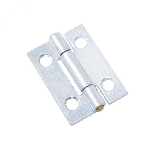 ledgångjärn 25 x 20 mm zink silver metall för skåp dörrar luckor lådor möbler