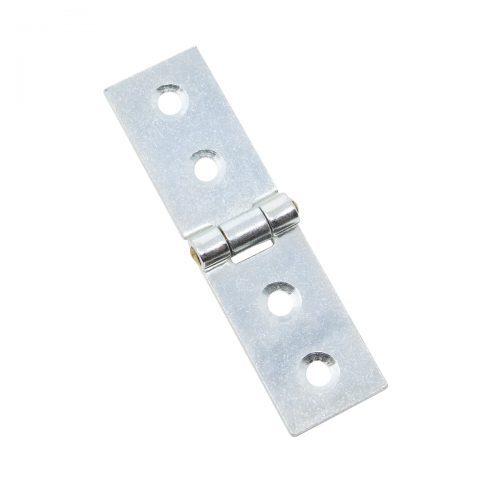 ledgångjärn 19 x 32 mm zink silver metall för skåp dörrar luckor lådor möbler