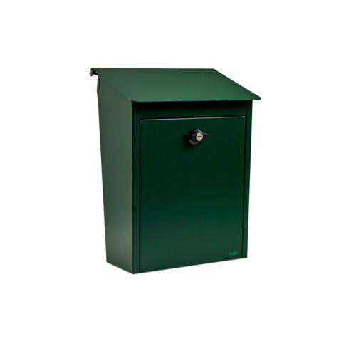 postlåda brevlåda grön