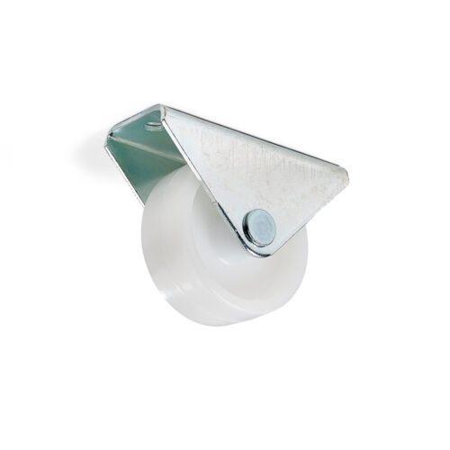möbelhjul zink vit plast 40kg