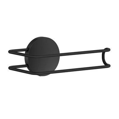 självhäftande toalettpappershållare svart thread
