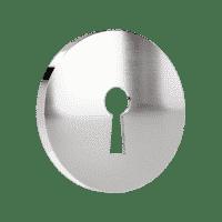nyckelskylt av blank krom ts1